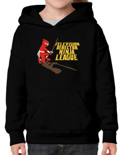 Television Director Ninja League Hoodie-Girls