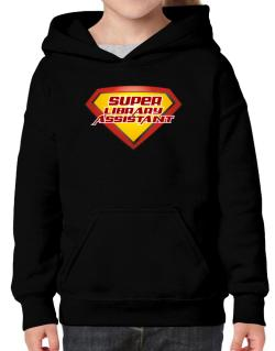 Super Library Assistant Hoodie-Girls
