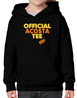 Official Acosta Tee - Original Hoodie-Girls