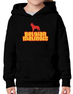 Breed Color Belgian Malinois Hoodie-Girls