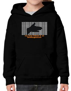 My Best Friend Is A Bolognese Hoodie-Girls