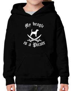 My Beagle Is A Pirate Hoodie-Girls