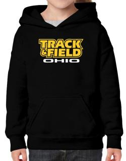 Track And Field - Ohio Hoodie-Girls
