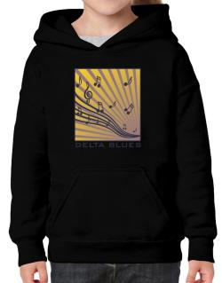 Delta Blues - Musical Notes Hoodie-Girls
