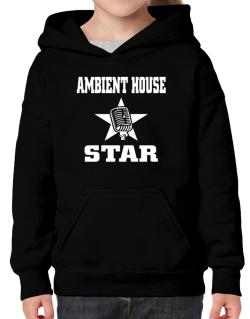 Ambient House Star - Microphone Hoodie-Girls