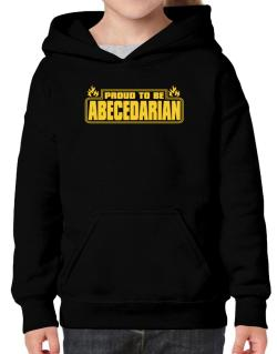 Proud To Be Abecedarian Hoodie-Girls