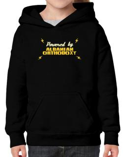 Powered By Albanian Orthodoxy Hoodie-Girls