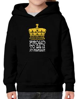 Proud To Be A Hy Member Hoodie-Girls