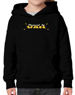 Powered By Vail Hoodie-Girls