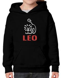 Leo - Cartoon Hoodie-Girls