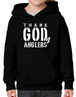 Thank God For Anglers Hoodie-Girls