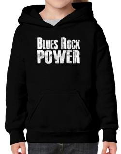 Blues Rock power Hoodie-Girls