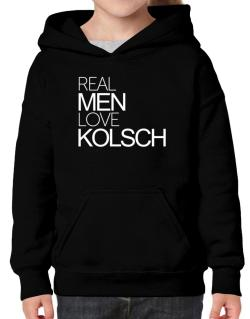 Real men love Kolsch Hoodie-Girls