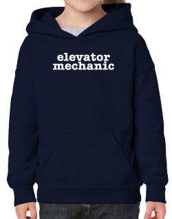 Elevator Mechanic Hoodie-Girls