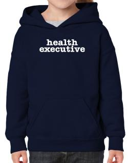 Health Executive Hoodie-Girls