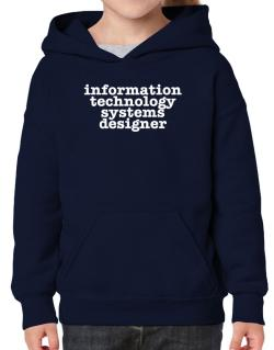 Information Technology Systems Designer Hoodie-Girls