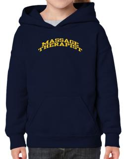 Massage Therapist Hoodie-Girls