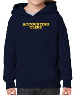 Accounting Clerk Hoodie-Girls
