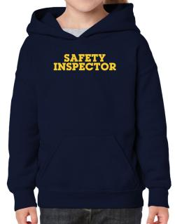 Safety Inspector Hoodie-Girls
