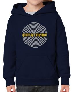 Acoustic Bass Guitar Addict Hoodie-Girls