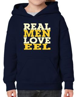 Real Men Love Eel Hoodie-Girls