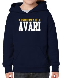 Property Of Avari Hoodie-Girls