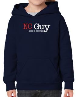 Guy Made In Asheville Hoodie-Girls