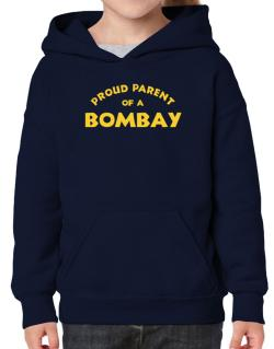 Proud Parent Of A Bombay Hoodie-Girls