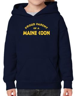 Proud Parent Of A Maine Coon Hoodie-Girls