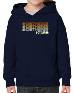 Retro Color Northeast Hoodie-Girls