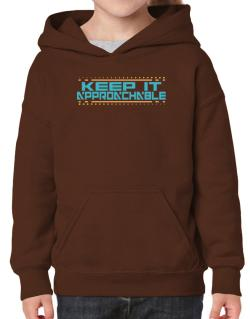 Keep It Approachable Hoodie-Girls