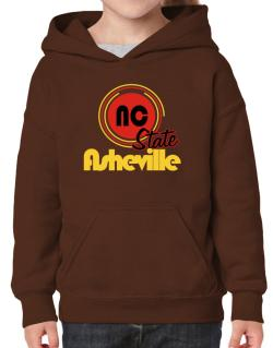 Asheville - State Hoodie-Girls