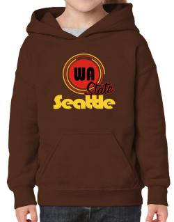 Seattle - State Hoodie-Girls