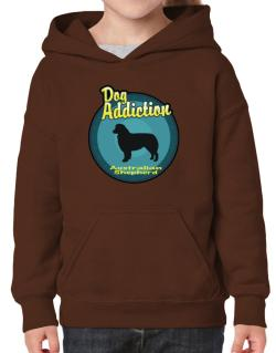 Dog Addiction : Australian Shepherd Hoodie-Girls