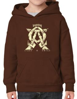 Weightlifting Alpha And Omega Hoodie-Girls