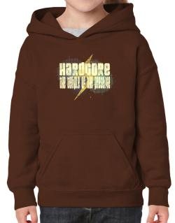 Hardcore The Temple Of The Presence Hoodie-Girls