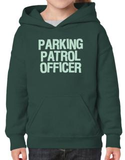 Parking Patrol Officer Hoodie-Girls