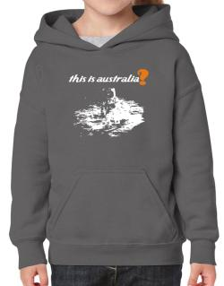 This Is Australia? - Astronaut Hoodie-Girls