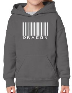 Dragon Barcode / Bar Code Hoodie-Girls