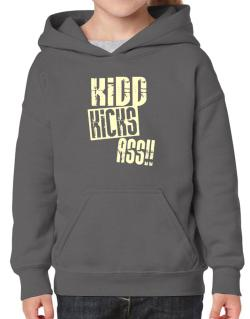 Kidd Kicks Ass!! Hoodie-Girls