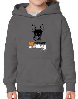 """ Fox Terrier MY BEST FRIEND - URBAN STYLE "" Hoodie-Girls"