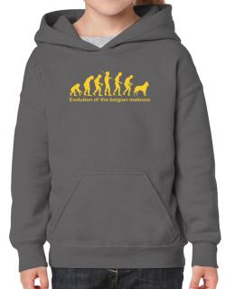 Evolution Of The Belgian Malinois Hoodie-Girls