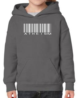 Atheism - Barcode Hoodie-Girls