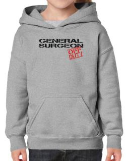 General Surgeon - Off Duty Hoodie-Girls