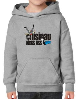Chisinau Kicks Ass Hoodie-Girls