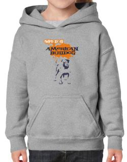 Owned By An American Bulldog Hoodie-Girls