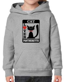 Cat Lover - Pantherette Hoodie-Girls
