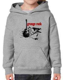 Grunge Rock - Feel The Music Hoodie-Girls