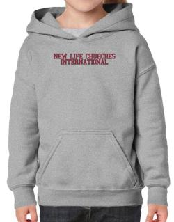 New Life Churches International - Simple Athletic Hoodie-Girls