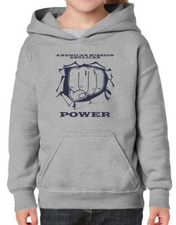 American Mission Anglican Power Hoodie-Girls